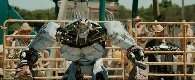 robo boxeador do filme real steel
